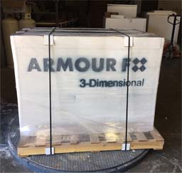 Shipping: Custom packaging for 3D wall panels