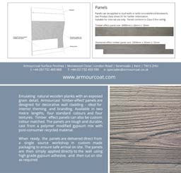 Timber and Concrete Effect panels: Downloads